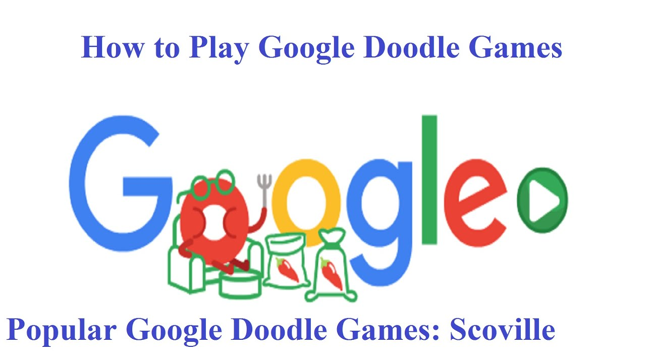 Popular Google Doodle Games How To Play Google Doodle