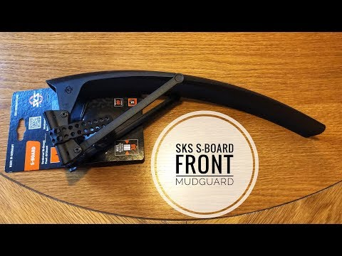 SKS S-Board Front Mudguard Unboxing!
