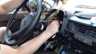 Установка сигнализации Pantera CL 500 на ВАЗ 2104, 2105, 2107 (часть5)