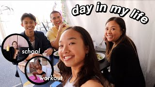 day in my life | school, workout, & dance! Nicole Laeno