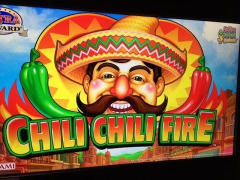 Chilli Chilli Fire Slot Bonus BIG WIN - Konami - YouTube