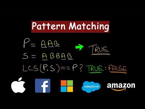 Pattern Matching |
