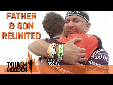 Father and Son Reunited After 17 Years on Tough Mudder Course