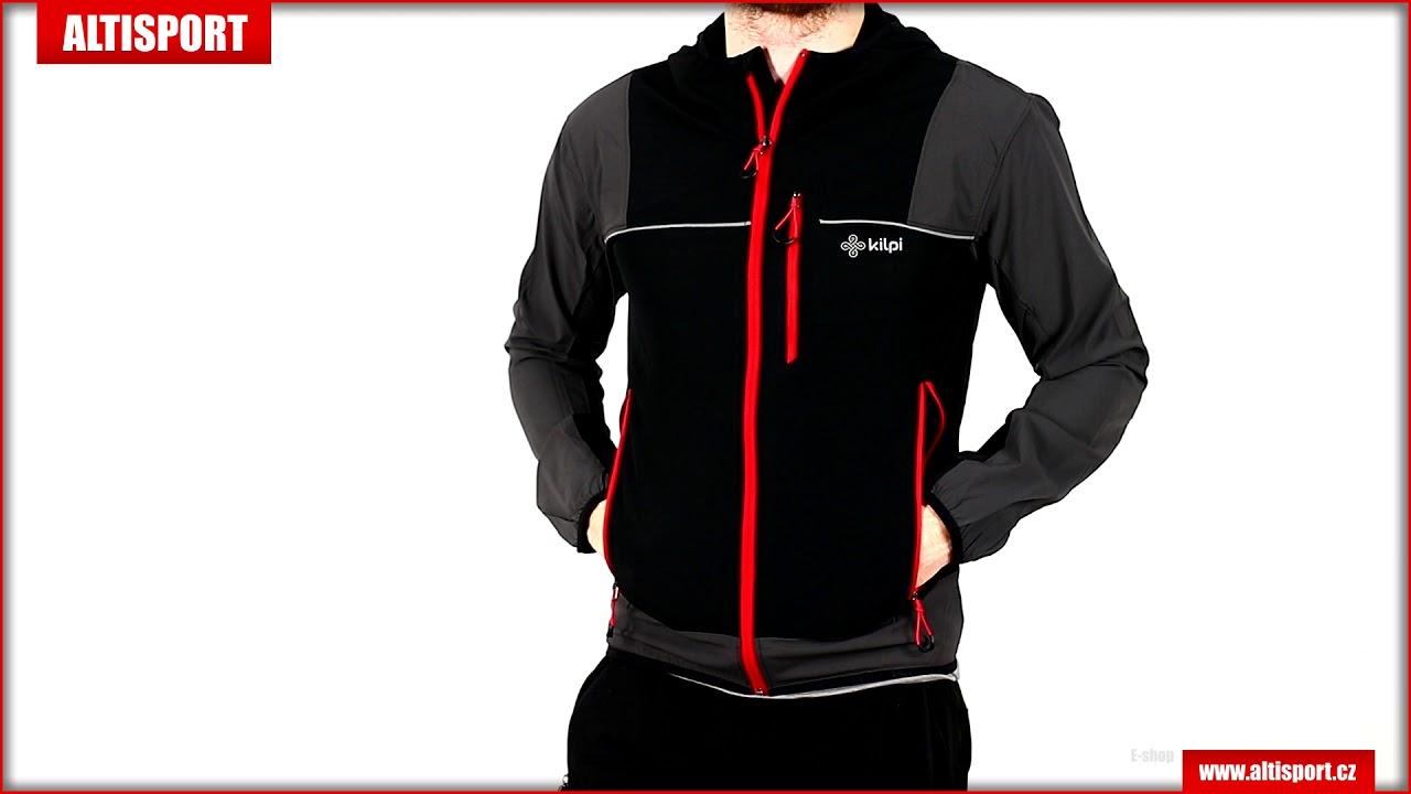 40ecb6442bf0 pánská sportovní bunda kilpi joshua m jm0172ki černá - YouTube