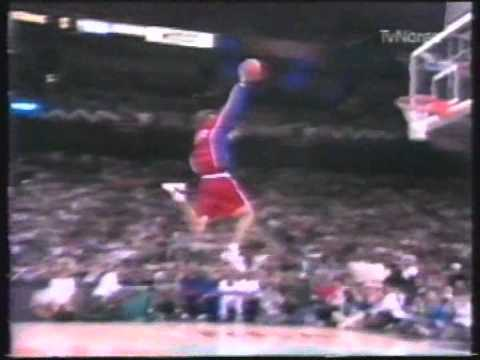 1996 NBA all star slam dunk Brent barry
