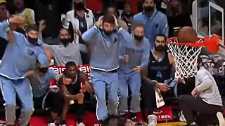 Ja Stuns His Bench Off Their Feet Twice in a Row