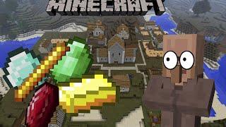 Обзор мода Minecraft [1.8.9] Village Box Своя собственная деревня в майнкрафте