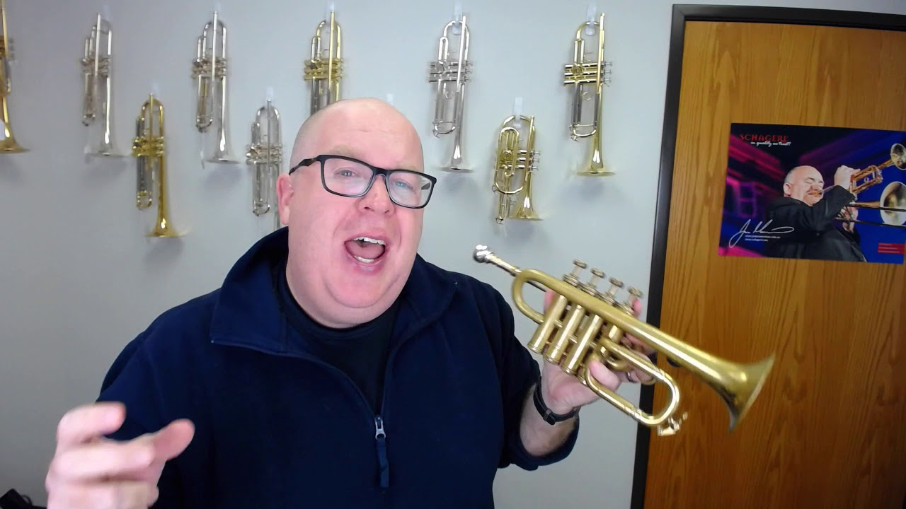 Hedendaags Selmer Maurice Andre Piccolo Trumpet for sale at ACB! - YouTube WL-38