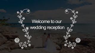 結婚式プロフィールムービー素材 お洒落で可愛い装飾30選