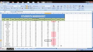 how to make student marksheet in MS excel I Result,Rank & Grade & PIVOT TABLE | MY SMART COACHING