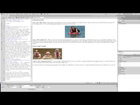 Dreamweaver CS6 - Aligning Text and Images
