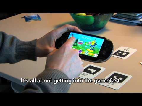 AR Play Cards explained - PS Vita