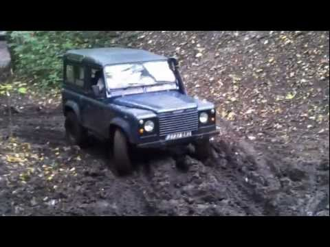 Yorkshire off road club Brotherton trial 21 10 12