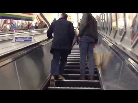 MY Way Out - Piccadilly Circus Underground Station - London
