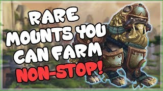 Rare Mount Drops That You Can Farm for All Day and How To Get Them