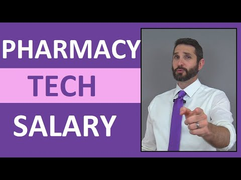 How much does a pharmacy technician make in canada