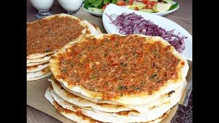 Lahmacun Tarifi | Hatice Mazı ile Yemek Tarifleri