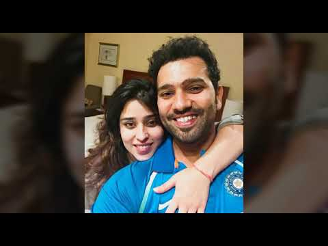 Rohit sharma and ritika Sajdeh cutest ones in the world