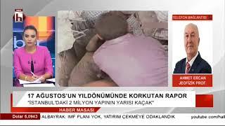 İstanbul için korkutan deprem raporu! Ne yapılmalı? / Jeofizik Prof. Ahmet Ercan