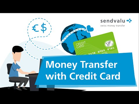 money transfer credit card