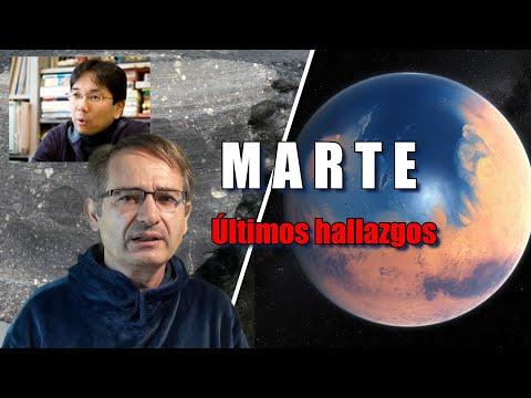 Extraños cráteres de Marte y un meteorito del Sahara nuevas pruebas del pasado Azul del Planeta Rojo