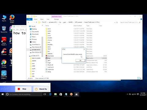 how to fix cannot find 640x480 video mode windows 10
