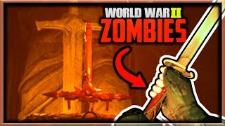 """The Final Reich"" Upgraded Sword & Resurrecting Barbarossa! (Call of Duty WW2 Zombies Storyline DLC)"
