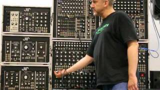 john l rice goes over his 5u modular system at the pnw synth gathering 2010 pt2