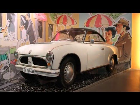 August Horch Museum in Zwickau op 13-09-2013 (map 131-12)