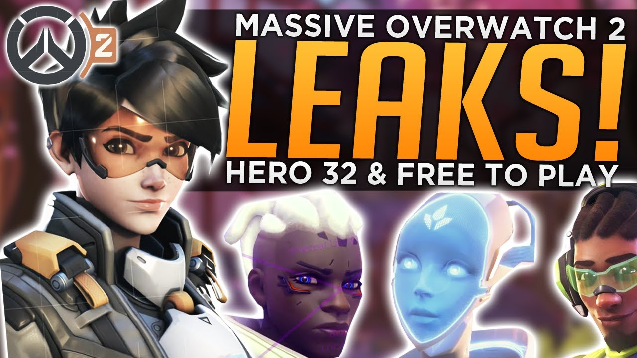 MASSIVE Overwatch 2 Leaks! - Hero 32 & FREE TO PLAY thumbnail