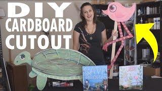 DIY Character Cardboard Cutout Tutorial!