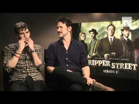 What's on TV: Matthew Lewis and Adam Rothenberg Talks Ripper Street