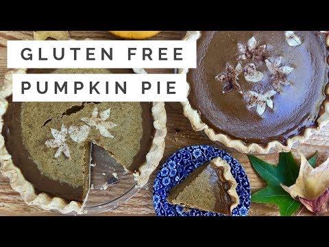 Easiest Pumpkin Pie | Gluten Free Recipe | Perfect For Thanksgiving