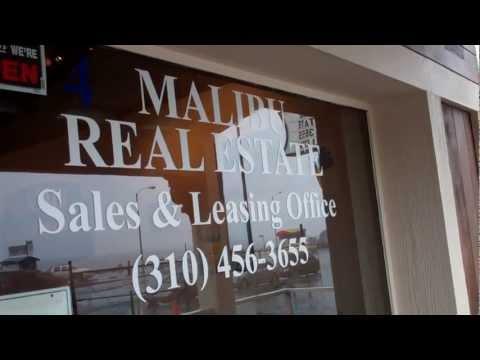 Rainy Malibu Day @ the 4 Malibu Real Estate Partners Office