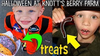 Spooky Halloween at Knott's Berry Farm || Family Fun Pack
