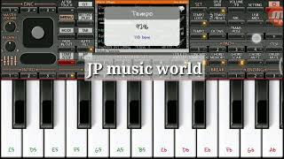 Mere Rashke Qamar Tune Pehli Najar - Piano Cover Songs