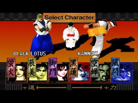 Bushido Blade All Characters Psx Youtube