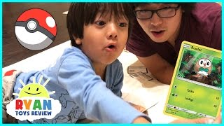 TOY HUNT Ryan ToysReview and First Time opening Pokemon Cards Game thumbnail