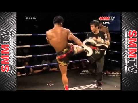 (โชว์) บัวขาว vs มวยจีน / Buakaw Banchamek vs Quentin Chong | 27 May 2013