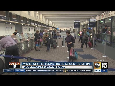 Ugly weather hits holiday travelers