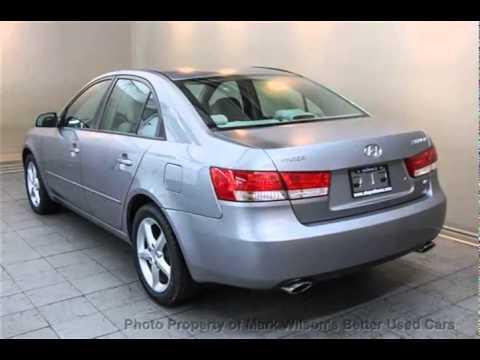 Mark Wilsons Better Used Cars 2006 Hyundai Sonata V6 Sunroof