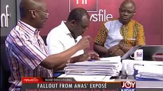 Fallout From ANAS' EXPOSÉ - Newsfile on JoyNews (2-6-18)