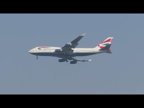 THE GIANT BIRD : BRITISH AIRWAYS Boeing 747 (LONDON to MUMBAI) : AVIATION in INDIA