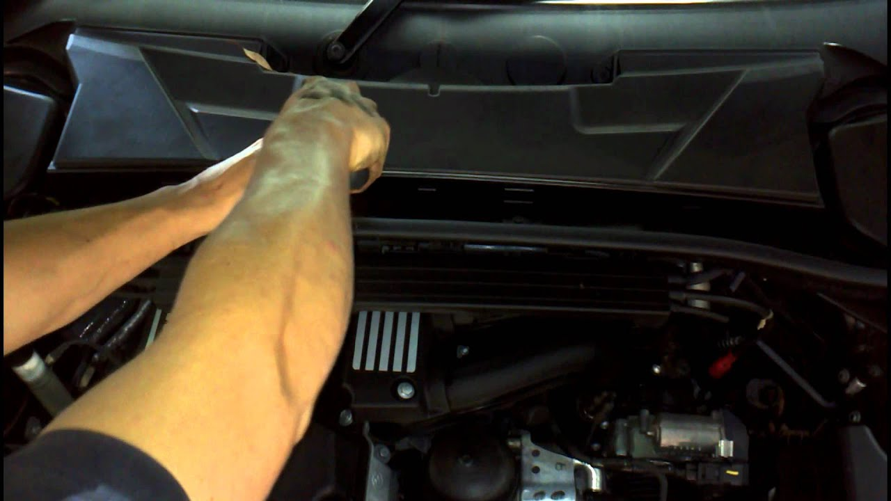 Bmw Air Filter Microfilter And Spark Plug Service 1 3 Series How To Diy Bmtroubleu Youtube
