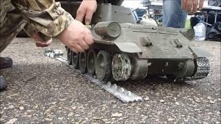 Радиоуправляемая модель танка Т-34 (1:8) | RC tank T-34(, 2016-06-19T15:30:43.000Z)