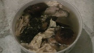 Traditional Chinese Soup For Chinese New Year  (authentic Chinese Cooking)
