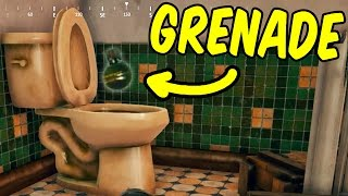 THE TOILET SAVES ME? - PlayerUnknown's Battlegrounds Funny Moments & Epic Stuff (PUBG)