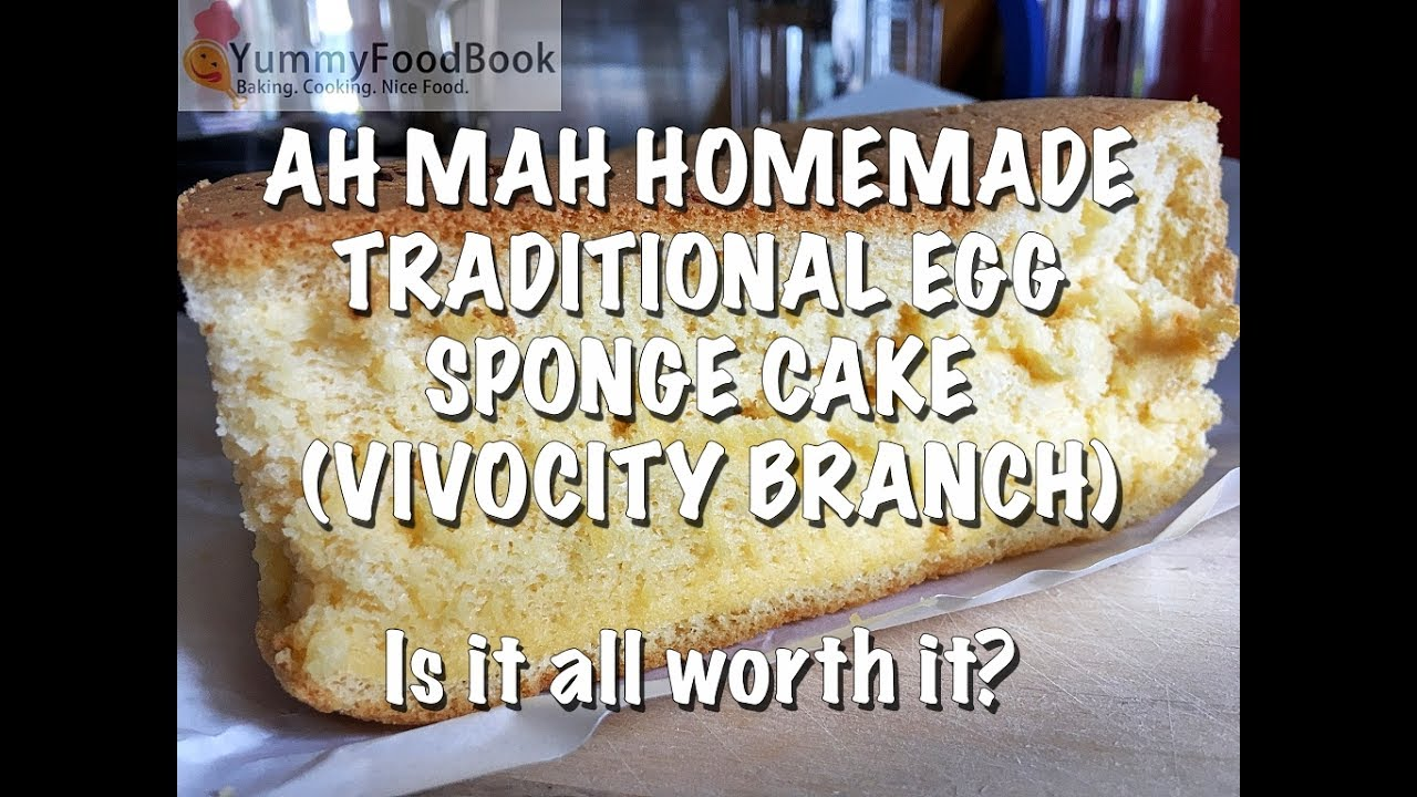 Ah Mah Egg Sponge Cake Recipe