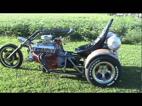 Free V8 Trike Frame Plans | Amtframe org