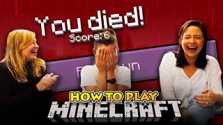 LITTLE KELLY - HOW TO PLAY MINECRAFT w/Little Carly & YoImJo!